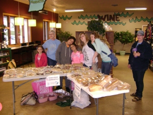 The JAM kids make and have a bake sale each year to raise funds to give to the missions of their choice.