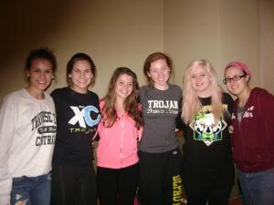 Savanah, Dallis, Shannon, Kristen, Dyana & Olivia